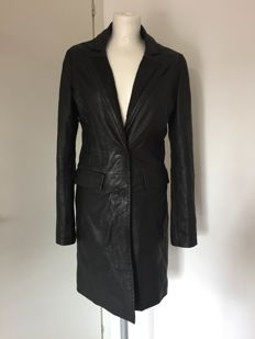 Roberto Cavalli -- leather coat -- 'no reserve price'