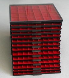 Accesories - Coin boxes (14 pieces)