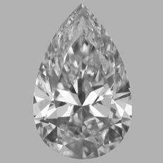 0.30ct Pear  Brilliant Diamond D VS1  IGI  -Original Image-10X - Serial# 300C