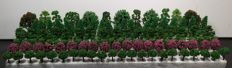 Scenery Z - Collection of 142 trees / model making trees