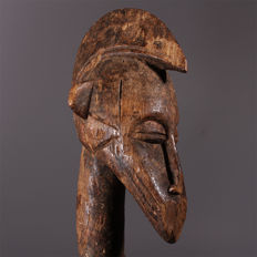 Old Senufo Statue, Superb Patina - Ivory Coast