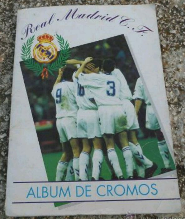 Variante Panini - Football Real Madrid - Complete album