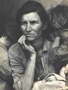 Dorothea Lange (1895-1965) - Migrant Mother, Nipomo, California