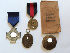 Medal commemorating the 1st of October 1938 (Sudetenland medal)