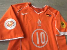 Legendary Shirt Dutch National Football Team Euro 2004 - The Netherlands vs. Germany - Ruud Van Nistelrooy