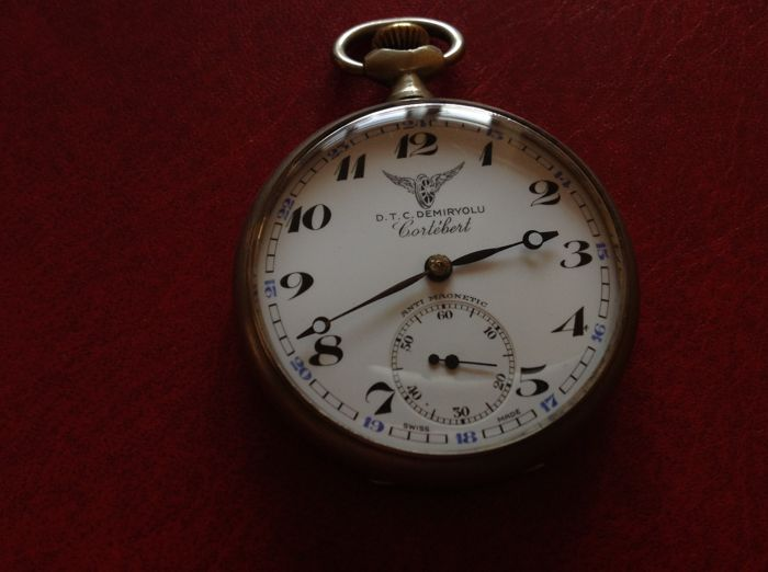 Cortebert pocket watch for men