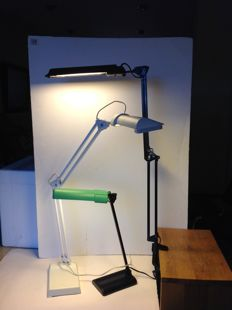 Lival - 3 different, industrial desk lamps