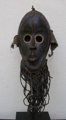 Running Mask -Dan - Ivory Coast