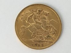 Great Britain - Half Sovereign 1913 - George V - Gold