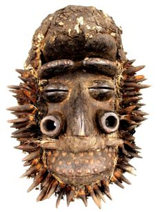 War mask - GUERE - Ivory Coast