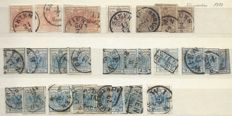 Austria from 1850 - stamps and postage due stamps