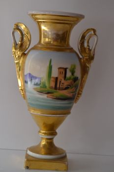 Jar/urn pocelain , France ca.1900