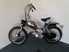 Puch VS 50 D - 1959 - incl. leather moped/motorcycle helmet and leather gloves - 1950s/1960s