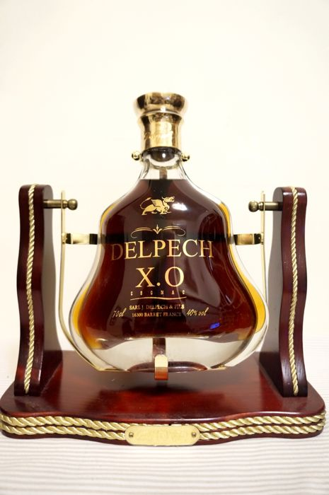 Cognac Delpech X.O. With Original Cart