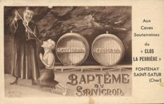 Alcohol, wine, and Champagne 77x - Advertising, Winery, and Fantasy - 1900/1960