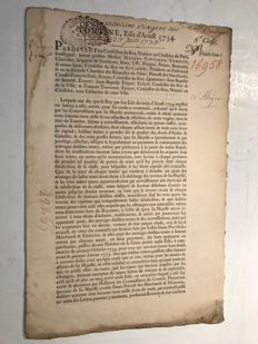 Tontine édit August 1734  (Share) to 25 June 1736