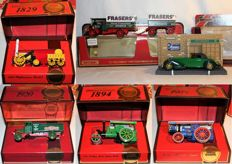 Matchbox - Scale 1/46-1/64 - Lot with 6 Y- models Models of Yesteryear - Limited edition boxed - 1985 to 1987