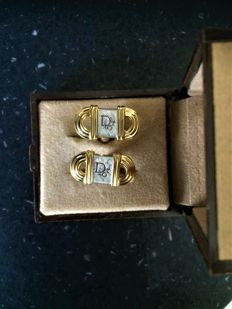 Christian Dior - cufflinks - newstate