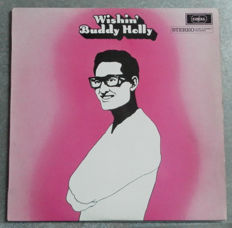 """"""" Rock On """" Nine and One double  Rare LP  ALBUMS with Buddy Holly ,  Ritchie Valens , Mike Berry, Larry Brinkley and Alvin Stardust."""