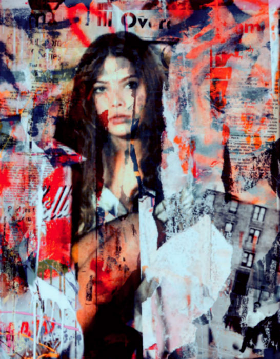 Felix von Altersheim -Ornella Muti - Blamed - Collage Urban