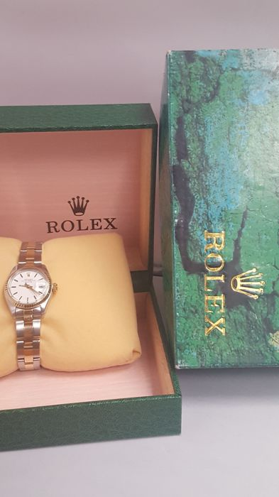 Rolex - OYSTER PERPETUAL Date - 6917 - Dames - 1990-1999