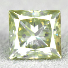 Diamond – 1.54 ct, VS2 – Natural Fancy Grayish Yellow
