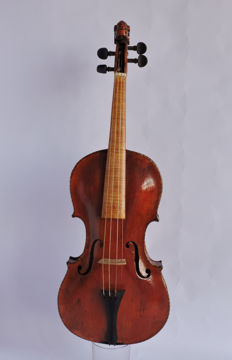 Antique Baroque 4/4 Violin - Budapest - late 1800
