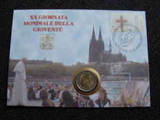 Vatican - 2 Euro 2005 (World youth days) in numis letter