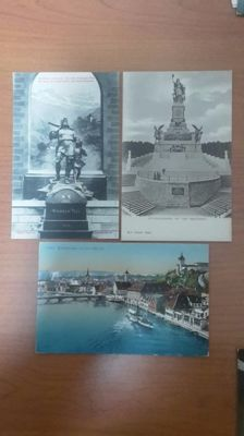Zwitserland - Suisse - Lot of postcards from Switzerland