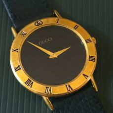 Gucci 3000 M Swiss Made - Very elegant men's timepiece, used in good condition