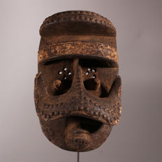 Old Bete Mask - BETE - Ivory Coast