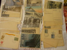 Postcards Germany from the second world war, in total of 28 pieces