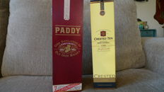 2 bottles - Paddy Centenary 1913-2013 & Jameson Crested Ten 1780