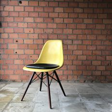 Charles & Ray Eames for Herman Miller – side chair DSW, Lemon Yellow