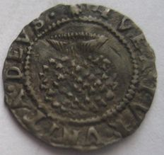 United Kingdom - Penny James I 1603-1625 (Rose and Thistle)