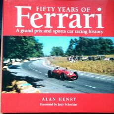 Fifty years of Ferrari book