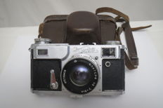 """Kiev-2A"" The exact copy of ""Contax II"". Super rare !! 1956-1958"