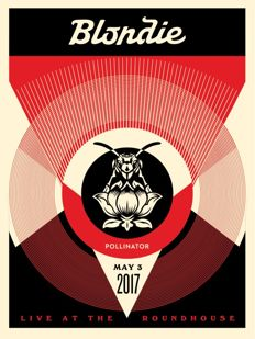 Shepard Fairey (OBEY) - Blondie Pollinator - Live at the Roundhouse