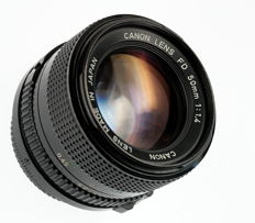 Canon 50mm f/1.4 (FD mount)