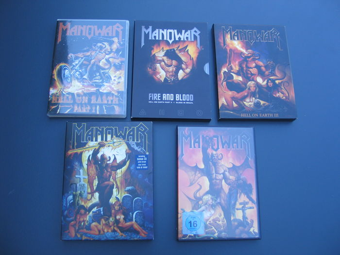 Manowar - Hell on Earth part 1, 2, 3, 4 and 5.