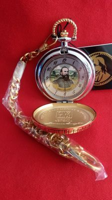 Franklin mint james longstreet civil war pocket watch