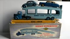 Dinky SuperToys - Scale 1/43-1/48 - Pullmore Car Transporter  No.982 with Hudson No.171 and VW No.181