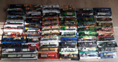 Various - Scale 1/87 - Lot with 60 models: 63 beer trucks & advertising trucks from approx. 1980 to 1999
