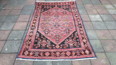 Old Magnificent Hand-knotted Persian - Hamadan 214cm x 127cm !