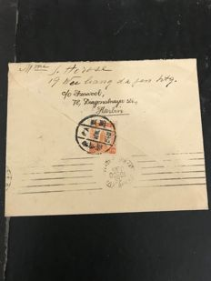 China and Japan – Postcards and envelopes with stamps.