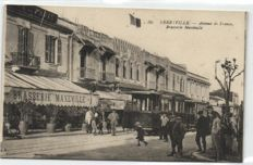 North Africa 79 x - Mostly street scenes with railways -  Algeria and Tunisia - 1900/1940