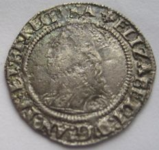 United Kingdom - ½ Groat 1560-1561 second issue (Cross Crosslet) Elizabeth I - silver