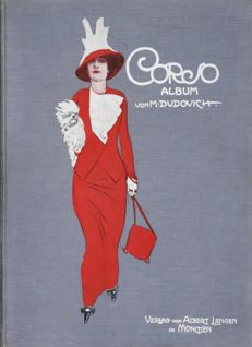 "MARCELLO DUDOVICH - ""Album Corso"" - original 1910 works - 32 colour plates - Art Nouveau - Jugendstil - Deco"
