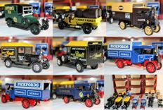 Matchbox  - Scale 1/47 and 1/72 - Lot with 13 models: Y5, Y13, Y19 and Y27 in different variations 1976-1987