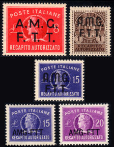 Trieste A, 1947-1952 - Services Complete Series Delivery, Parcels in Concession, Postage Due